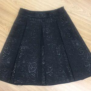 Banana Republic Knee Length Skirt with Print